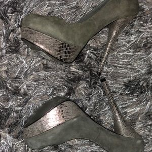 Grey Pumps- Size 8.5